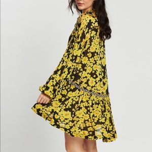 NWT free people love letter tunic floral dress